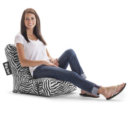 Big joe lumin chair blue - Big Joe Video Lounger Zebra 650231968749 Toolfanatic Com