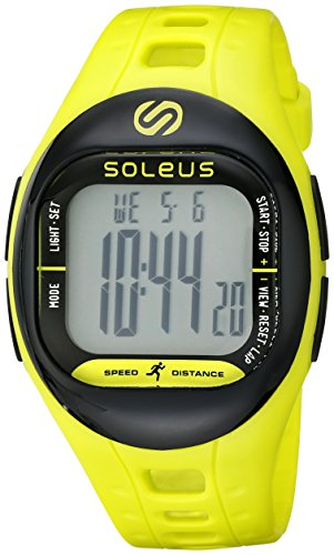 Soleus Unisex SF001-351 TEMPO Digital Display Quartz Green Watch (Target Watches For Men compare prices)