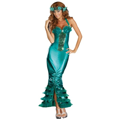Women's Sexy Mermaid Halloween Fancy Dress Costume