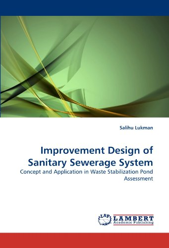 Improvement design of sanitary sewerage system concept and for Design of stabilisation pond