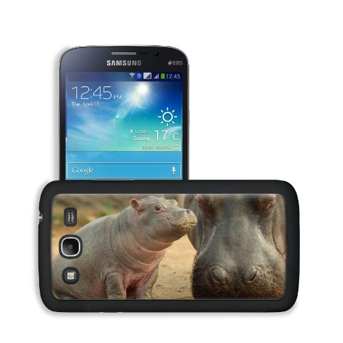 Hippopotamus Animal Mammal Nature Wild African Hippos Baby Samsung Galaxy Mega 5.8 Snap Cover Case Premium Leather Customized Made To Order Support Ready 6 7/16 Inch (163Mm) X 3 5/16 Inch (84Mm) X 4/8 Inch (12Mm) Liil Galaxy_Mega Professional Cases Touch front-951698