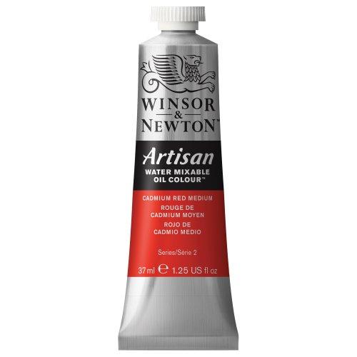 artisan-water-mixable-oil-paint-37ml-tube-cadmium-red-medium