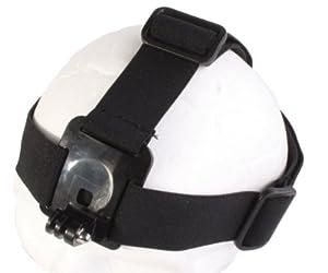 JMT OEM Simple casque tête sangle ceinture caméra monture fixe serre-tête réglable anti-dérapants pour Gopro Hero 3 2 HD