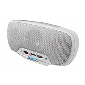 iRhythm 10 Watt Protable Speaker System for iPod (White)