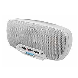 iRhythm 10 Watt Protable Speaker System for iPod (White)