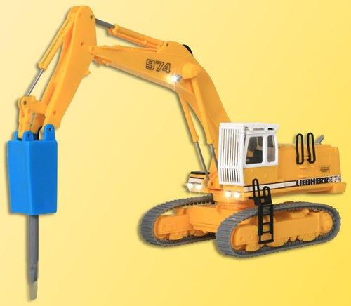 liebherr-974-excavator-w-pneumatic-chisel-led-lights-14-16-volts-strabag-yellow