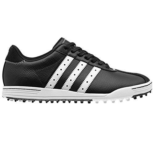 Adidas Mens Adicross Classic Golf Shoe, Black/White, 11.5 M US