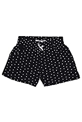 Chalk by Pantaloons Girl's Cotton Shorts (205000005647292, Blue, 4-5 Years)