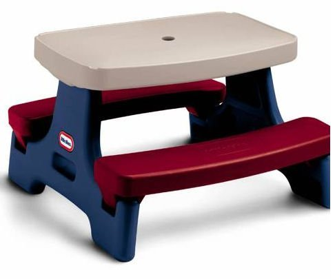 An Image of Endless Adventures Easy Store Jr. Play Table