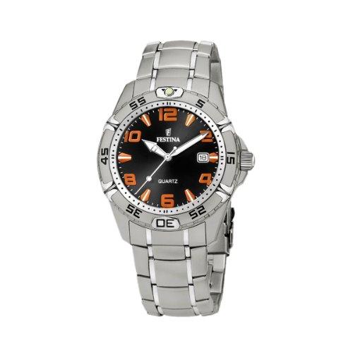 FESTINA Sport 16170/A - Reloj unisex de cuarzo, correa de acero inoxidable color plata