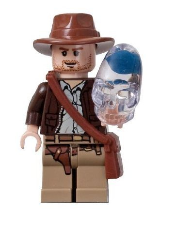 Indiana Jones (Crystal Skull) - Lego Indiana Jones Minifigure Amazon.com