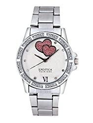 Exotica Analog White-Pink Dial Womens Watch