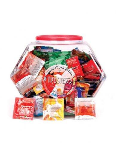 Trustex Assorted Flavored Lubricated Latex Condoms - 288 Condoms Best