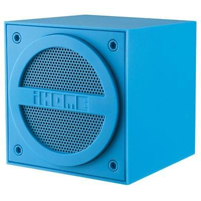 Ihome Ibt16Lc Bluetooth Mini Cube Speaker Blue