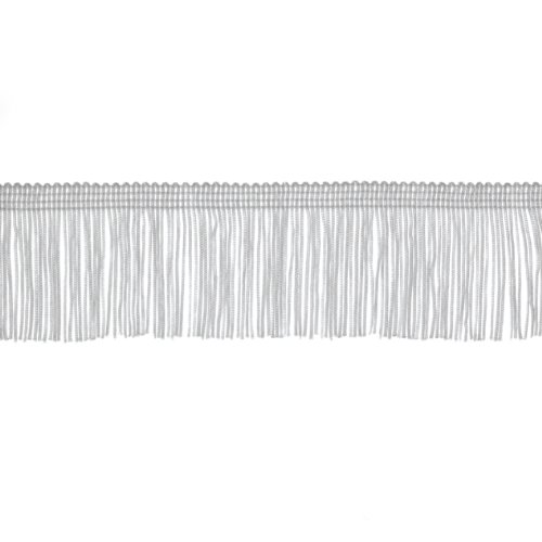Best Prices! 2'' CHAINETTE FRINGE TRIM WHITE