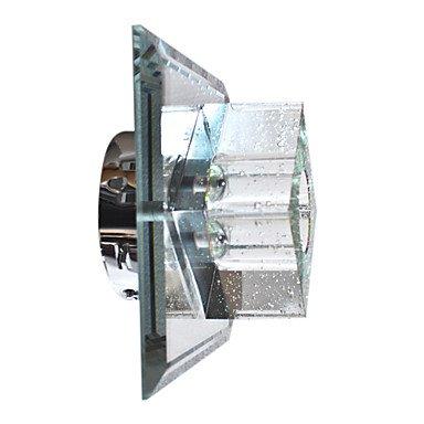 moderne de cristal murale avec 1 design cubique de lumiššre