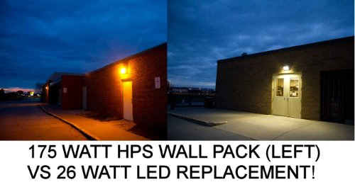 Led Wall Pack - 30 Watt - 1640 Lumens - 120-277 Volt - Bronze Finish - 150 Watt Mh Equal - Maxlite 70724
