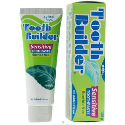 Squigle Tooth Builder Sensitive Toothpaste - 2 Pack