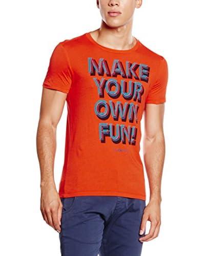 Energie Camiseta Manga Corta Naranja