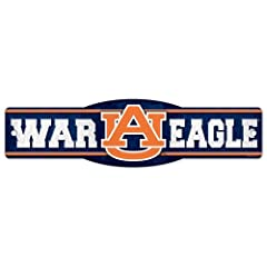 Buy Auburn Tigers Official NCAA 4x17 Street Sign by WinCraft