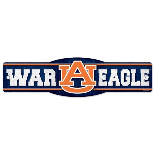 "Auburn Tigers Official NCAA 4""x17"" Street Sign at Amazon.com"