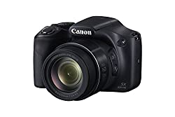 Canon SX-530 HS Black with 8GB Memory Card and Camera Case