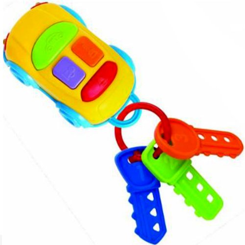 "Interactive Musical Toy ""Car Keys"" By Megcos -Affordable Gift for your Little One! Item #LMID-1297 - 1"