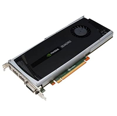 NVIDIA Quadro 4000 by PNY 2GB GDDR5 PCI Express Gen 2 x16 DVI-I DL, Dual DisplayPort and Stereo OpenGL, DirectX, CUDA, and OpenCL Profesional Graphics Board, VCQ4000-PB