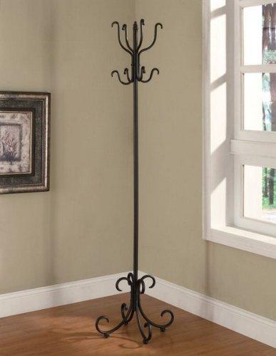 Coaster Home Furnishings 900863 Selene Metal Coat Rack, Black