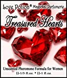 Love Potion®: Treasured Hearts ~ UNscented Pheromone Blend for Women - 1/3 Fl.oz. (10ml)