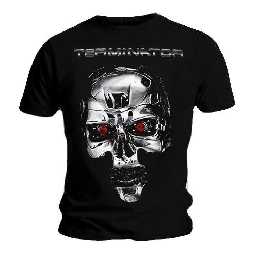 Official T Shirt TERMINATOR Skull