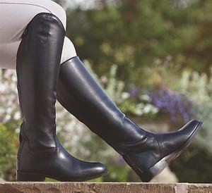 Shires Norfolk Long Leather riding Boots