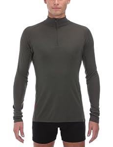 Redram By Icebreaker Long Sleeve Men's Zip Top Thermal Underwear - Camo, Small