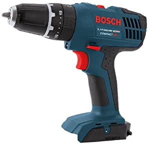 Bosch Bare-Tool HDB180B 18-Volt Lithium-Ion 3/8-Inch Cordless Hammer Drill/Driver