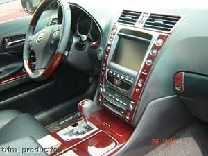 Lexus Gs330 Gs350 Gs430 Gs460 Interior Wood Dash Trim Kit Set 2006 2007 2008 2009