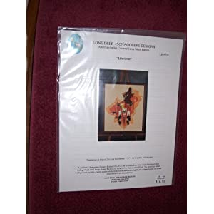 Cross Stitch Patterns - Western/Native American - Indian Chief