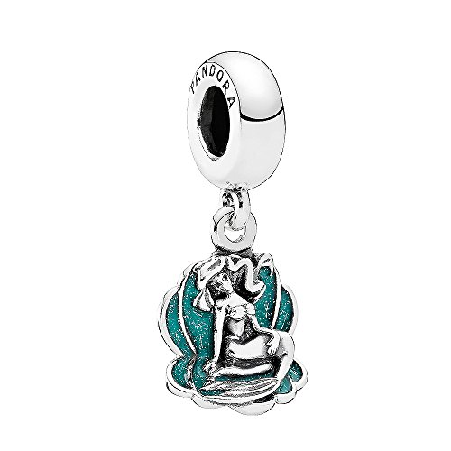 PANDORA Disney Ariel & Sea Shell Dangle 791895EN111