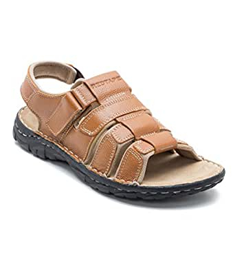 Red Tape Men's Tan Leather Sandals and Floaters - 11 UK/India (45 EU)