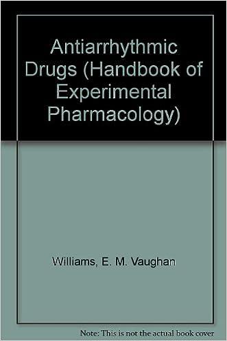 Antiarrhythmic Drugs (Handbook of Experimental Pharmacology)