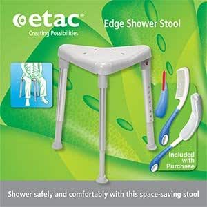 Amazon Com Etac Edge Shower Stool Includes 3 Piece Beauty