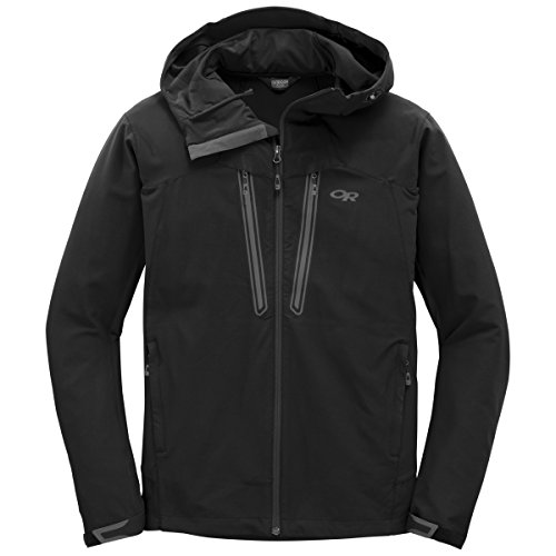 outdoor-research-herren-softshelljacke-mens-ferrosi-summit-hooded-jacket-black-m