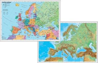 Europa physisch / politisch, Buch