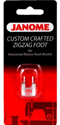 Janome Top-Load - Custom Crafted Zigzag Foot (Janome Zigzag Foot compare prices)