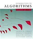 Introduction to Algorithms (0262531968) by Cormen, Thomas H.