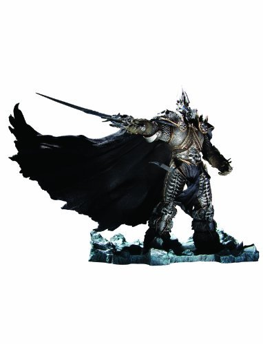 World of Warcraft Figur Serie 7: Arthas Menethil the Lich King DELUXE by DC Comics