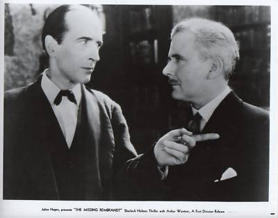 Sherlock Holmes And The Sleeping Cardinal Starring Arthur Wontner and Ian Fleming