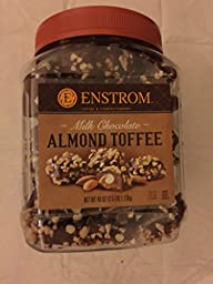 Enstrom Milk Chocolate Almond Toffee…