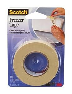 Scotch Freezer Tape, 3/4 x 1000 Inch (178)