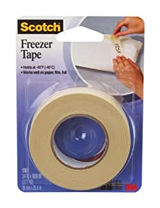 Scotch Freezer Tape, 3/4 x 1000 Inch (178)