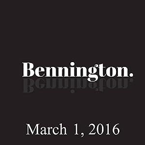 Bennington, Bob Saget and Barry Crimmins, March 1, 2016 Radio/TV Program